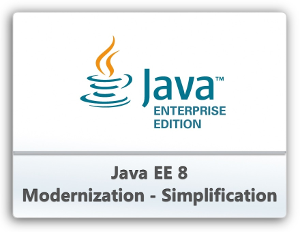 the logo of Java EE8