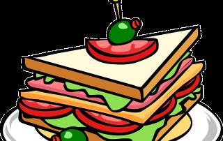 sandwich cartoon image, representing the sandwich technique structure