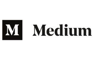 Logo of the website medium