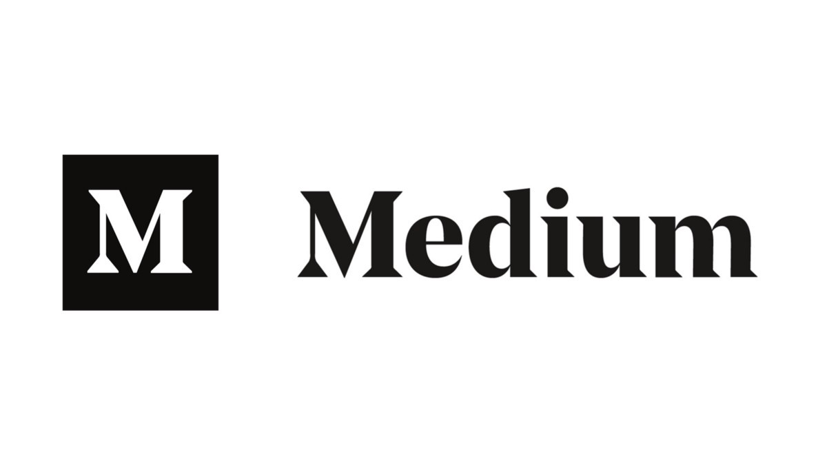 Logo of the website medium