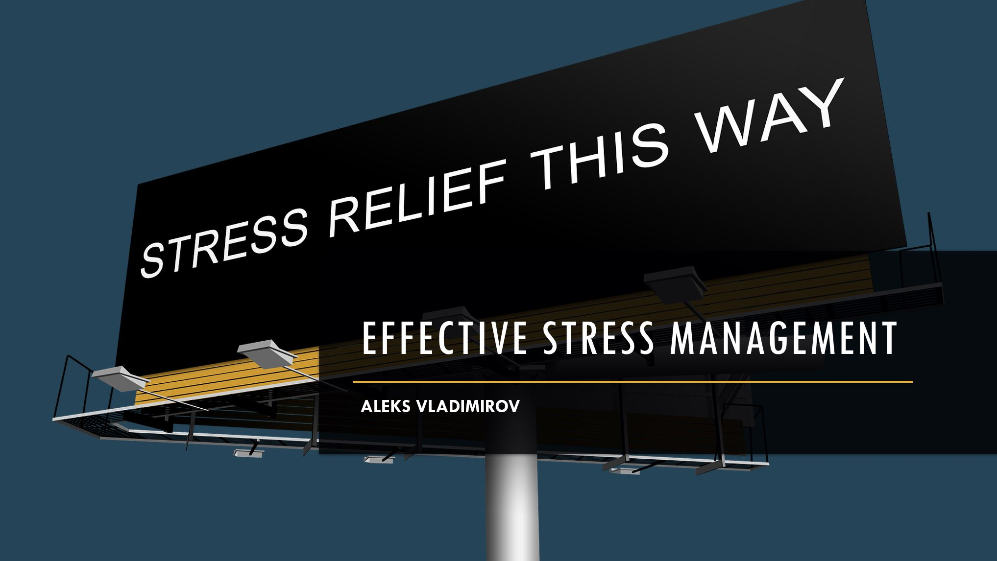 Effective Stress Management Training