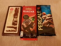 Three chocolates from Russia