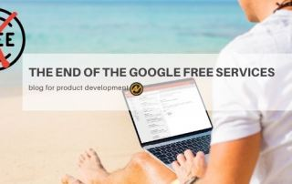 Product Development has its peak and declined phase. Google free and unlimited services will become something in the past.