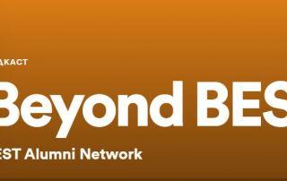 Logo Beyond BEST podcast.