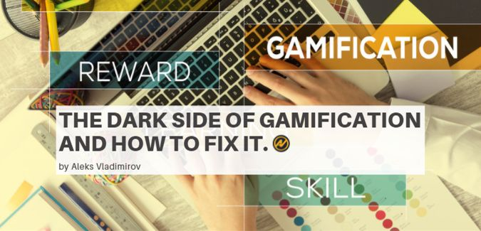 Image representing gamification and a lot of words related to that.